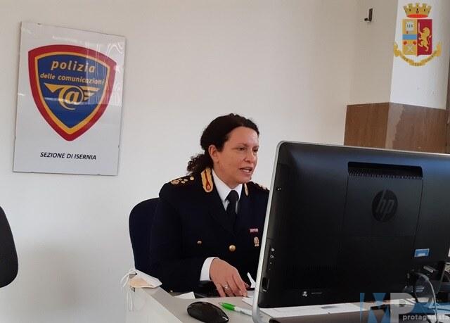 Videoconferenza della Polizia di Stato con gli studenti